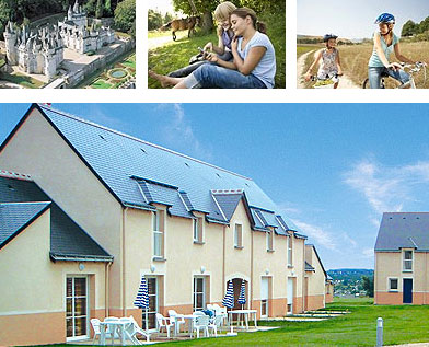 Photos residence jardins renaissance azay le rideau - Les jardins renaissance azay le rideau ...